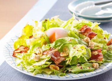 食物繊維豊富なサラダ