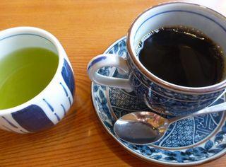 緑茶とコーヒー