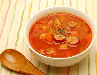 加熱調理したトマト料理