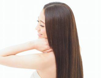 潤い炭酸ミストでまとまりのある美しい髪