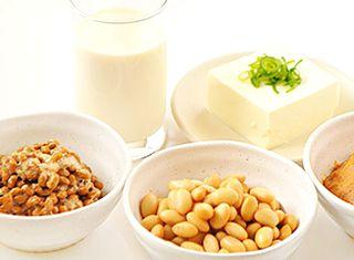 お豆腐や納豆、豆乳などの大豆製品